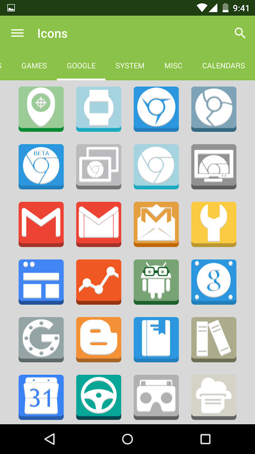 FlatBox - Icon Pack - screenshot