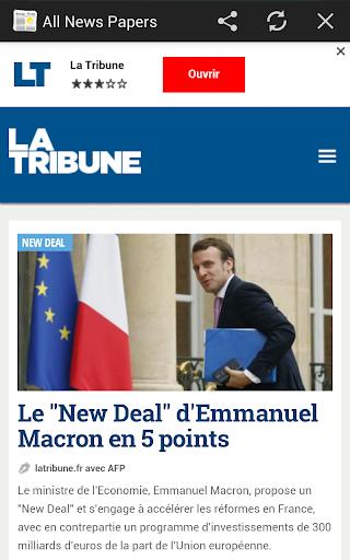 【免費新聞App】All News Paper of France-APP點子