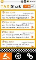 Screenshot of TaxiShark