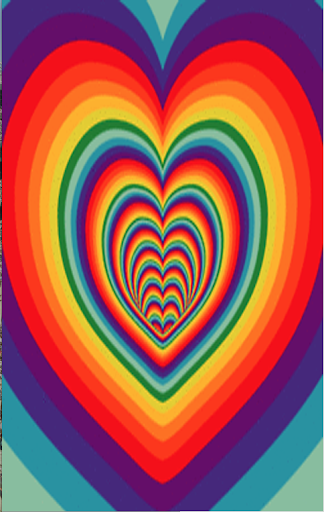 3D Heart Tunnel Of Love LWP
