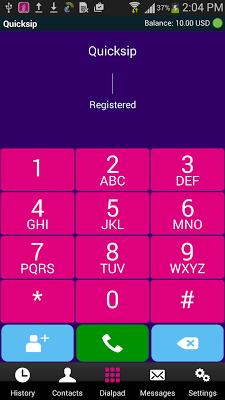 Quicksip Dialer - screenshot