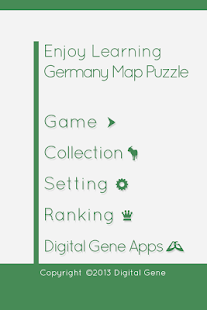 Enjoy L. Germany Map Puzzle- screenshot thumbnail