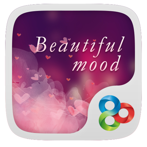 Beautiful Mood GO Theme LOGO-APP點子