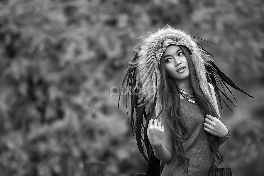 by Septyadhi  Gunawan - Black & White Portraits & People