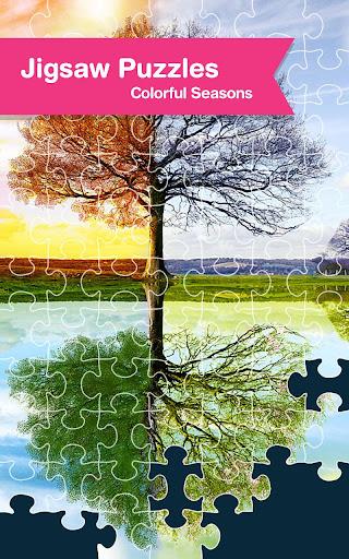 Jigsaw Puzzle: Colorful Season
