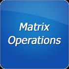 Operaciones con matrices icon