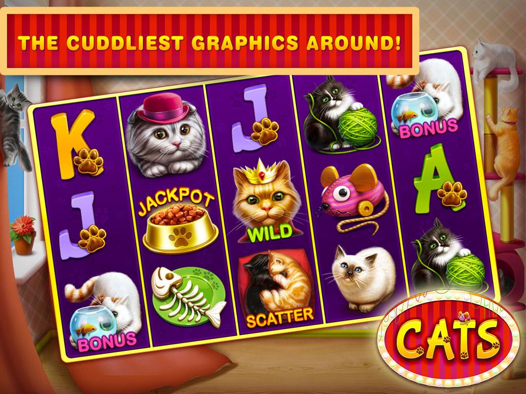 play free vegas slots cats