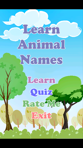 Learn Animal Names
