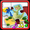 孩子们恐龙拼图 icon