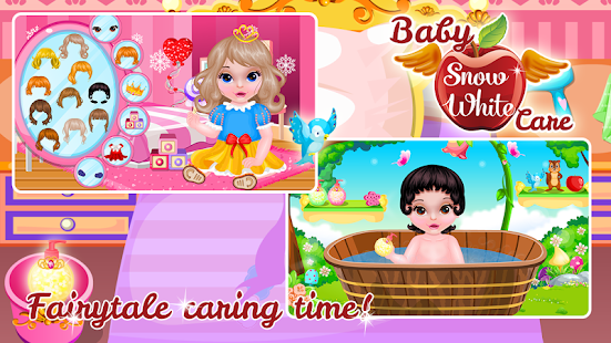 Baby Snow White Care- screenshot thumbnail