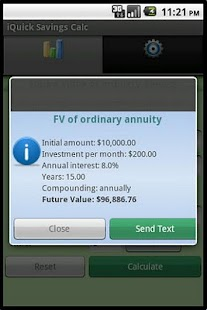 Savings Calculator - screenshot thumbnail