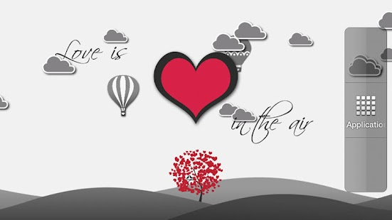 Love is in the air LWP (Free) - screenshot thumbnail