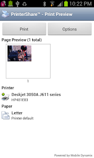 PrinterShare™ Mobile Print - screenshot thumbnail