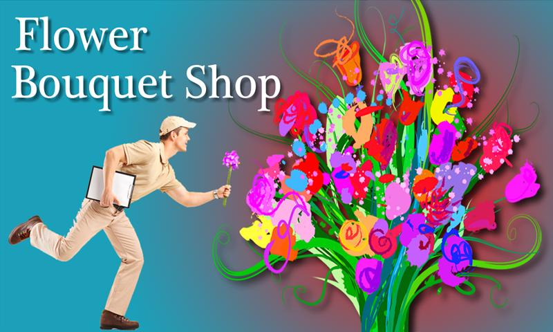 Flower Bouquet Shop Plus App - screenshot