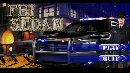 FBI SEDAN - Police Parking