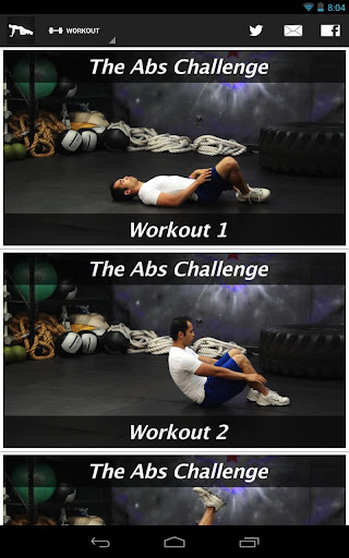 The Abs Challenge Workout