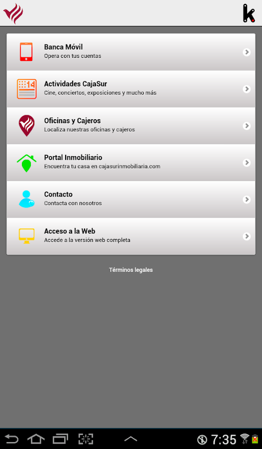 Cajasur android apps on google play for Oficinas caja sur