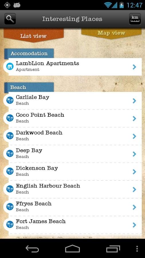 iLandGuide Antigua & Barbuda- screenshot