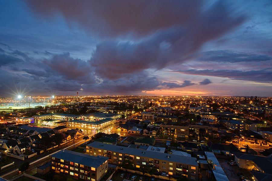 My City by Night by Damien Bradshaw - City,  Street & Park  Night