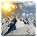 Winter Mountain Live Wallpaper icon