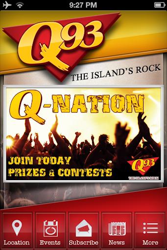 Q93.fm - The Island's Rock