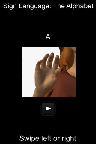 Sign Language Alphabet - screenshot