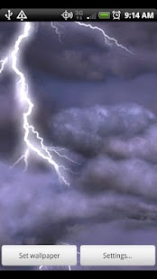 Thunderstorm Live Wallpaper- screenshot thumbnail
