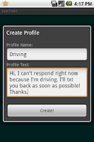 Screenshot of conText