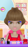 Screenshot of Doll Makeover Dress Up Games