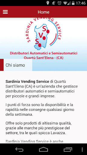 Sardinia Vending Service