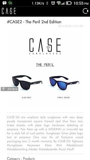 CASE Sunglasses