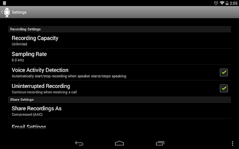 Dictadroid Voice Recorder v1.1.0