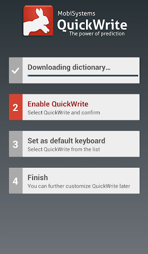 QuickWrite Keyboard Key