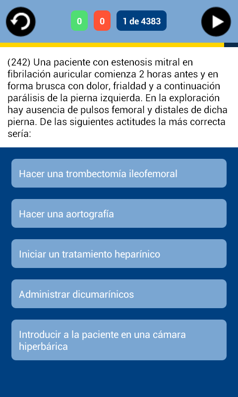 MirQuiz Curso MIR- screenshot