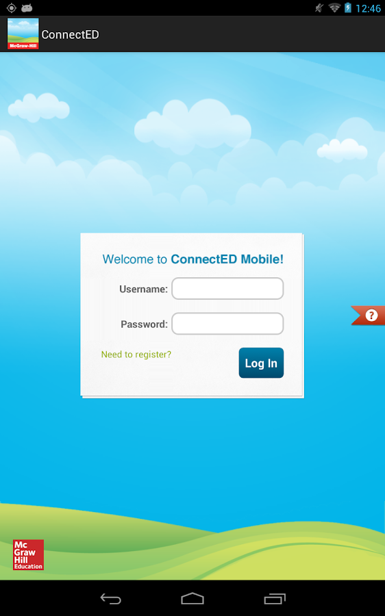 McGraw-Hill K-12 ConnectED- screenshot