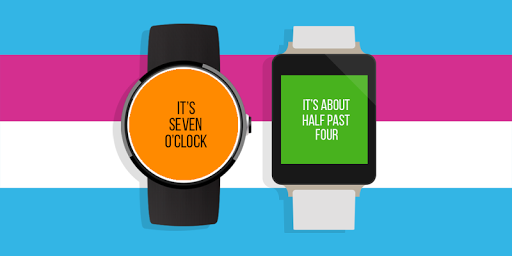 It's Time Android Wear Face