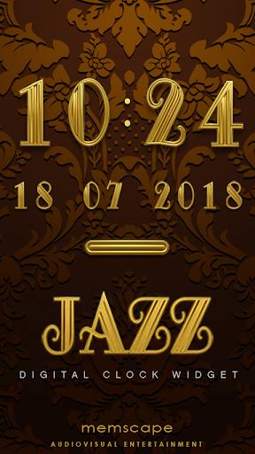 JAZZ Digital Clock Widget