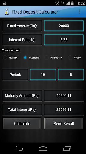 財經必備APP下載|Fixed Deposit Calculator 好玩app不花錢|綠色工廠好玩App