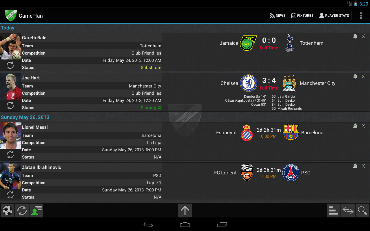 GamePlan Soccer Calendar - screenshot