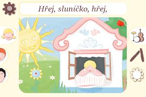 Screenshot of Hravé písničky 1, Lidové