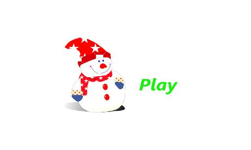 Snowman Love Fruit