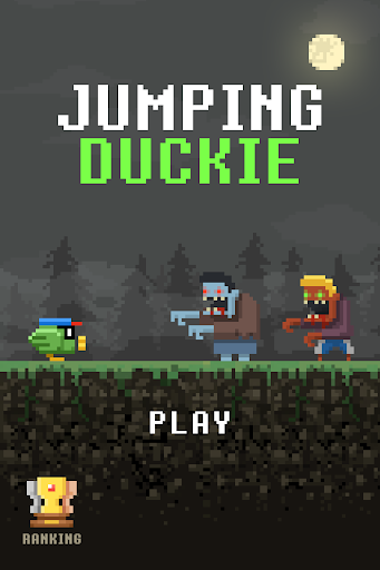 Jumping Duckie