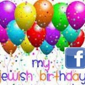 Facebook Jewish Birthday