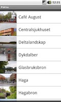 Screenshot of Båtbussguide (Deutsch)