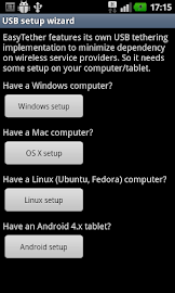EasyTether Lite (w/o root) Screenshot 3