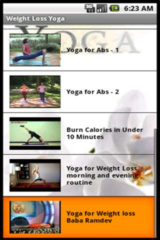 Weight Loss Yoga - screenshot