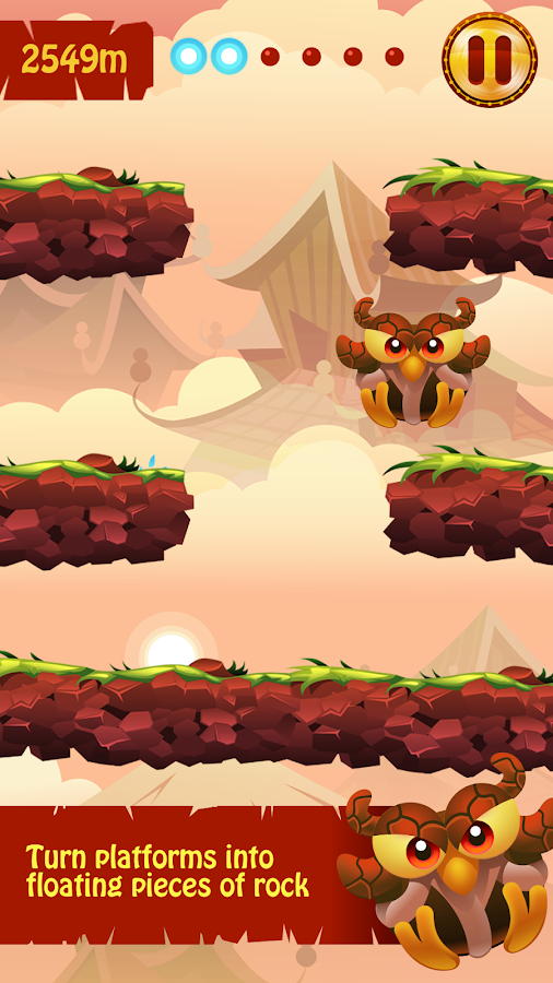 Owl Escape - Jumper Game- screenshot