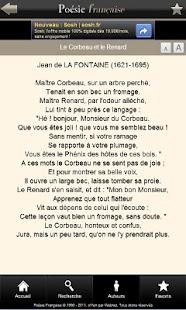 Poésie Française- screenshot thumbnail