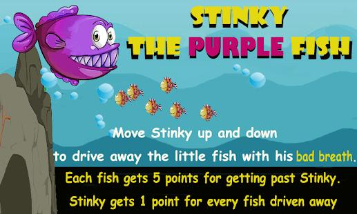 Stinky the Purple Fish