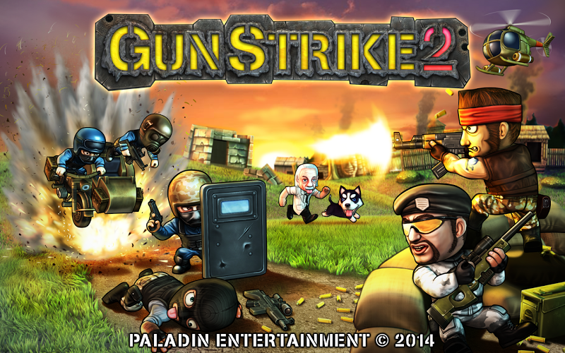 Gun Strike 2 Mod v1.1.8 (Unlimited Money) APK+DATA